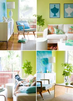 Clair Wayman - Gorgeous Fresh interior. Loving it!! #greenwithenvy #lifeinstyle