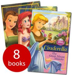 Disney Princesses Collection - 8 Books (Collection): 9781445496603