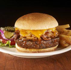 Hard Rock Legendary Hickory BBQ Bacon Burger