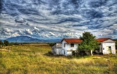 The Road to Meteora - Grevena To Kalambuka by Rik Freeman has been voted the Top Landscapes photo by Pixoto members for Best of Some Image, Cool Landscapes, Landscape Photos, Hdr, Fields, Greece, Awards, Mountain, Clouds