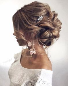 Featured Hairstyle: tonyastylist; www.instagram.com/tonyastylist; Wedding hairstyle idea. #weddinghairstyles