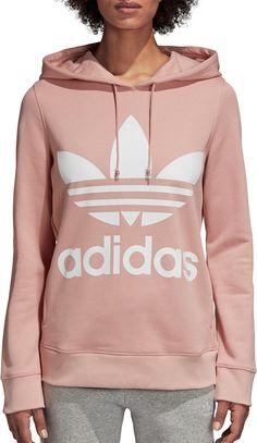 uk availability bfcec 5b569 adidas Originals Womens Trefoil Hoodie