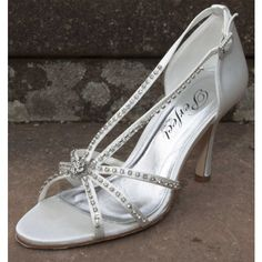 Perfect Casey Ivory Wedding Shoes - SALE