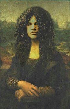 Guns N Roses, slash, and mona lisa image