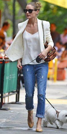 como usar blazer branco looks de inspiração femininos