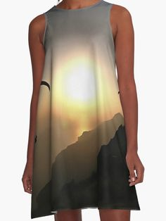 Paragliders Flying Without Wings by taiche #Paragliders  #ALine #Dresses #apparel #clothing #tandemparagliding #extremesports  https://www.redbubble.com/people/taiche/works/26723374-paragliders-flying-without-wings?asc=t&p=a-line-dress via @redbubble