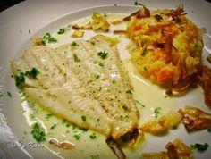 Das perfekte Fisch: Zitroniges Schollenfilet an Petersilien- Zitronen Sauce-Rezept mit einfacher Schritt-für-Schritt-Anleitung: Die küchenfertige Scholle…