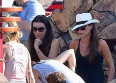 Along for the ride: Tana Ramsay and her children were also in attendance and Gordon's wife...