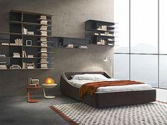 Brera bed, beauty made in Italy