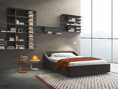 Brera bed, beauty made in Italy