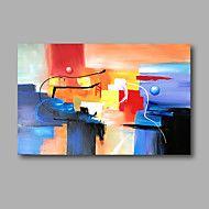 Handgeschilderde+AbstractModern+Eén+paneel+Canvas+Hang-geschilderd+olieverfschilderij+For+Huisdecoratie+–+EUR+€+137.04
