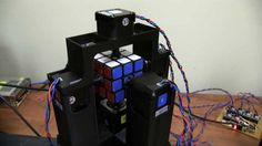This robot can solve a Rubik's Cube in less than 1.2 seconds