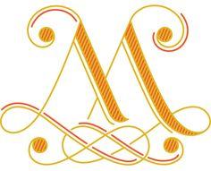 Alphabet 2: M | Daily Drop Cap