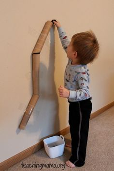 20 Toddler Activities. This blog has some awesome activities I haven't seen before.