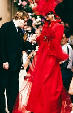 Haute couture hiver 1992/93. Getty Images