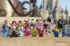 Complete your Lego Disney Castle with Lego Disney Minifigures
