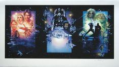 Drew Struzan, Star Wars tryptich | one of his masterworks, in my opinion