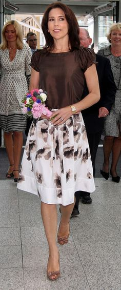 Princess Mary Photo - Princess Mary Of Denmark Visits Summer Fair 2008 In London