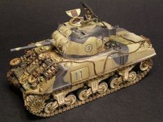 This Photo was uploaded by Military Diorama, Military Art, Tank Armor, Sherman Tank, Model Tanks, Military Modelling, Ww2 Tanks, Chenille, Panzer