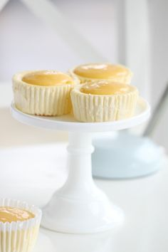 Passion 4 baking 》Mini Lemon Cheesecakes (these sound too delicious to pass up)