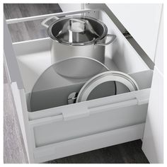 IKEA VARIERA storage box Makes it easier to organise and find what you need in the drawer.