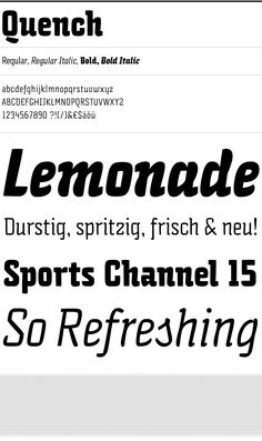 Quench - HvD Fonts