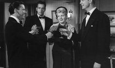 Frank Sinatra, Raymond Burr ,Shelley Winters, and Alex Nicol Shelley Winters, Raymond Burr, Abraham Lincoln, Meet, Movies, Image, Films, Cinema, Film