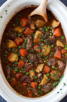 This beef stew is the definition of comfort food! It is packed with flavor and that low and slow cooking yields the most tender beef. A staple recipe!