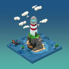The Island on Behance