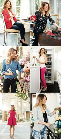 LC's collection for Kohl's via Fancy Things blog...Need all!
