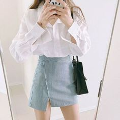 Five Korean Skirts To Try This June Weather Korean Fashion I'm always on the look out for new style and trends from watching Korean Dramas and KPOP videos. Their sense of fashion is what I love and it's proven that Koreans can rock any outfit a…