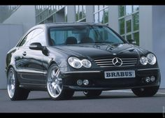 2003 Brabus Mercedes Benz CLK Mercedes Brabus, Senior Dating, Luxury Cars, Dream Cars, Super Cars, Automobile, Sporty, Bike, Vehicles