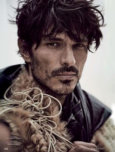 Andres Velencoso Segura Dons Fall Coats for GQ Style Germany
