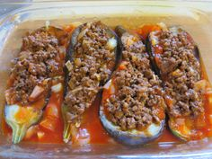 The Iraqi Family Cookbook: Stuffed Eggplant (Sheikh Mahshi)