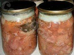 Carne în suc propriu la borcan. Îți vine s-o mănânci direct din borcan, un deliciu! - Bucatarul
