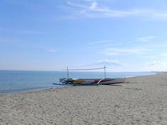 Boat on the beach, near pangasinan