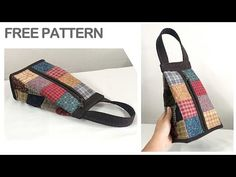 Sewing Patterns Free, Sewing Tutorials, Quilt Patterns, Free Pattern, Free Sewing, Quilt Making, Bag Making, Retail Bags, Sack Bag