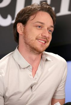 James McAvoy; love him, he always seems to have a twinkle in his eye.