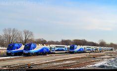 RailPictures.Net Photo: AMT 1362 1363 1368 Agence Metropolitaine de Transport Bombardier ALP-45DP at Montreal(Lachine), Quebec, Canada by Frank Jolin