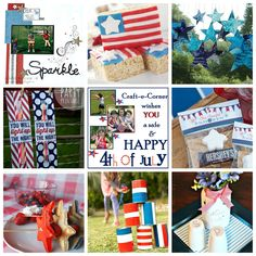 DIY 4th Of July! Food, Festivities and Fun... Check out our favorite food, activities and DIY projects to make your 4th a BLAST! #DIY #4thofjuly #DIYpartyideas
