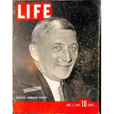 Cover Print of Life, June 17 1940 | $6.60