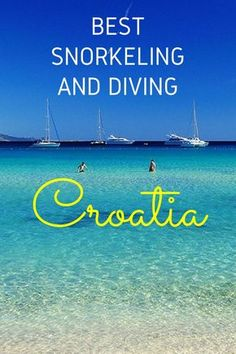 Croatia has some of the finest beaches in the world with some magnificent places to snorkel and dive. If offshore adventures are what you want, check out the best #snorkeling and #diving locations in #Croatia here! #TravelCroatia