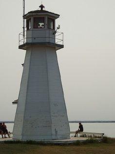 Cochin Light. Western Canada, Saskatchewan and Alberta