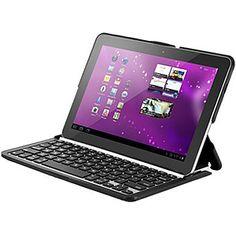ZAGGfolio Folio Case w/ Bluetooth Keyboard for Samsung Galaxy Tab 2 10.1