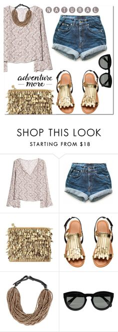 """No name #7"" by hancicaf on Polyvore featuring moda, MANGO, Levi's, Forest of Chintz, Brunello Cucinelli, Monday i CÉLINE"
