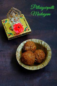 Pillaiyarpatti Karupatti Modagam/Pillayarpatti Modakam with Palm Jaggery