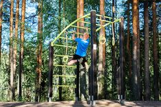 Home Grid with Sidebar - I'm a girl writing an article. Parkour Kids, Fitness, Architecture Design, Nature, Workout Equipment, Monkeys, Gymnastics, Bridge, Athlete