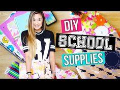 DIY School Supplies: