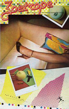 Zoetrope #7 Xeno/April Greiman, Chicago, Illinois, 1981