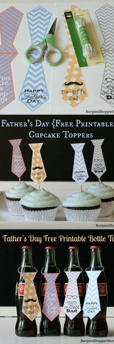 Father's day printable ties